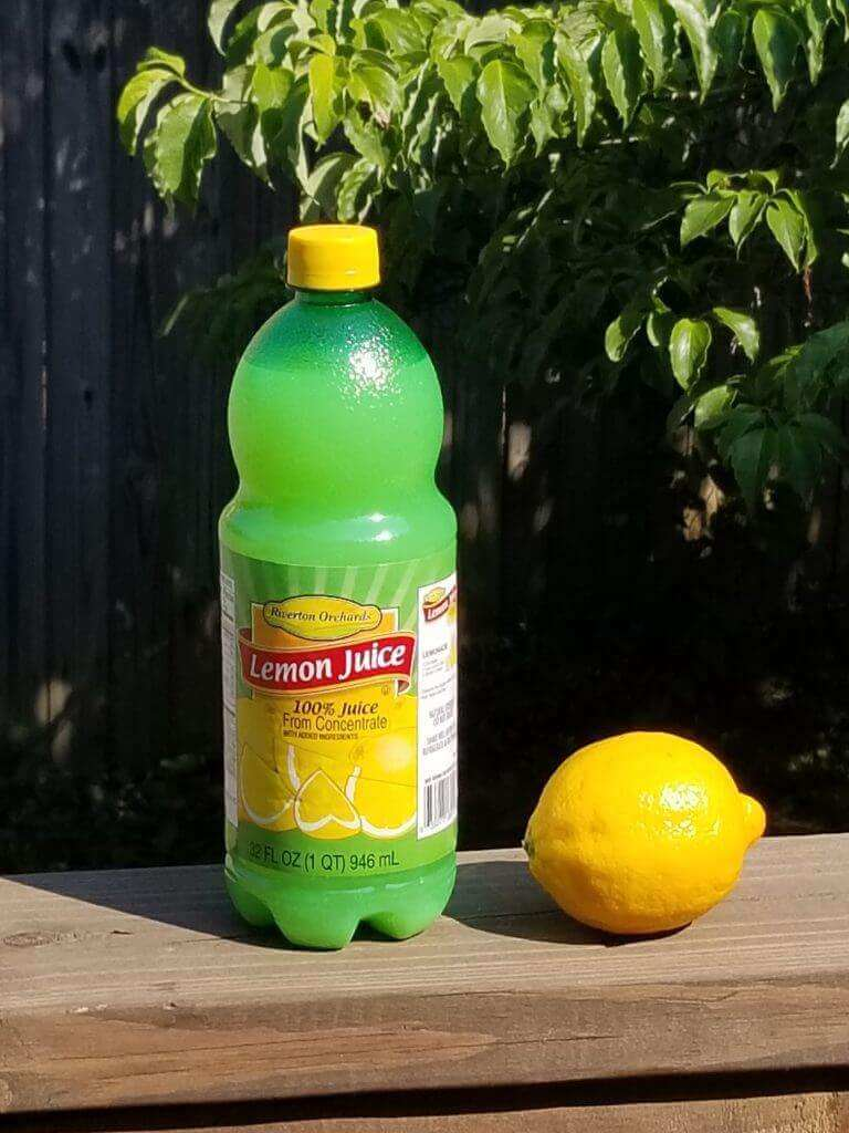 You can clean household items with lemon